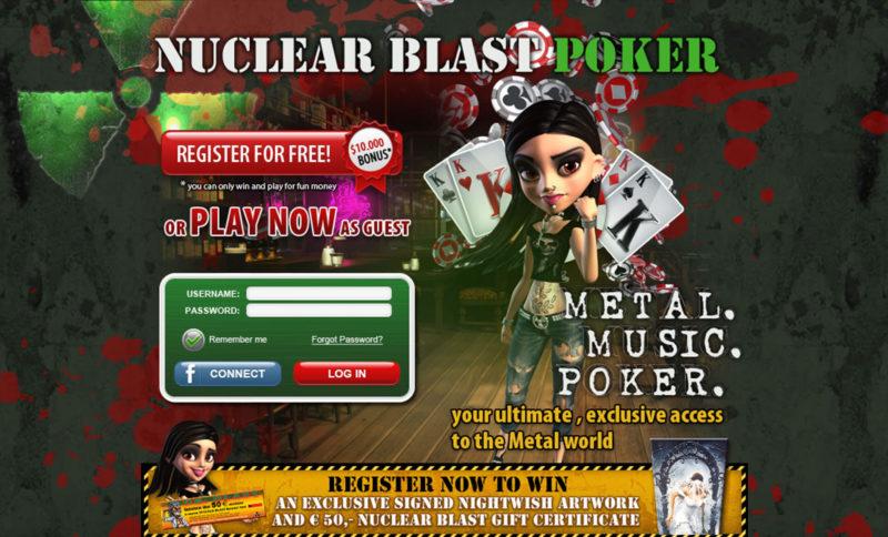 Nuclear Blast Poker