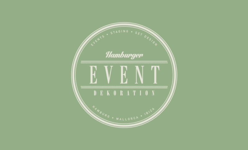 Hamburger Event Dekoration