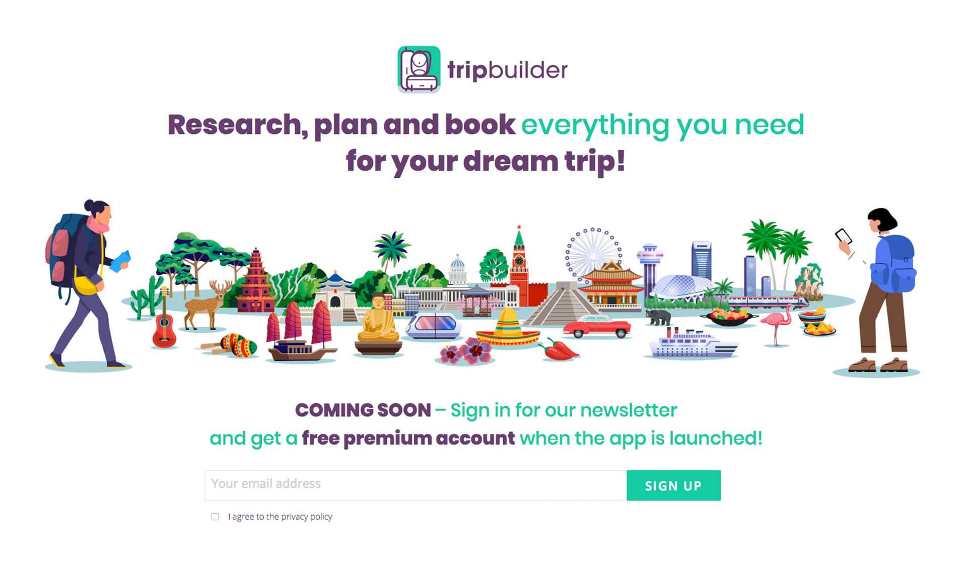 Tripbuilder App